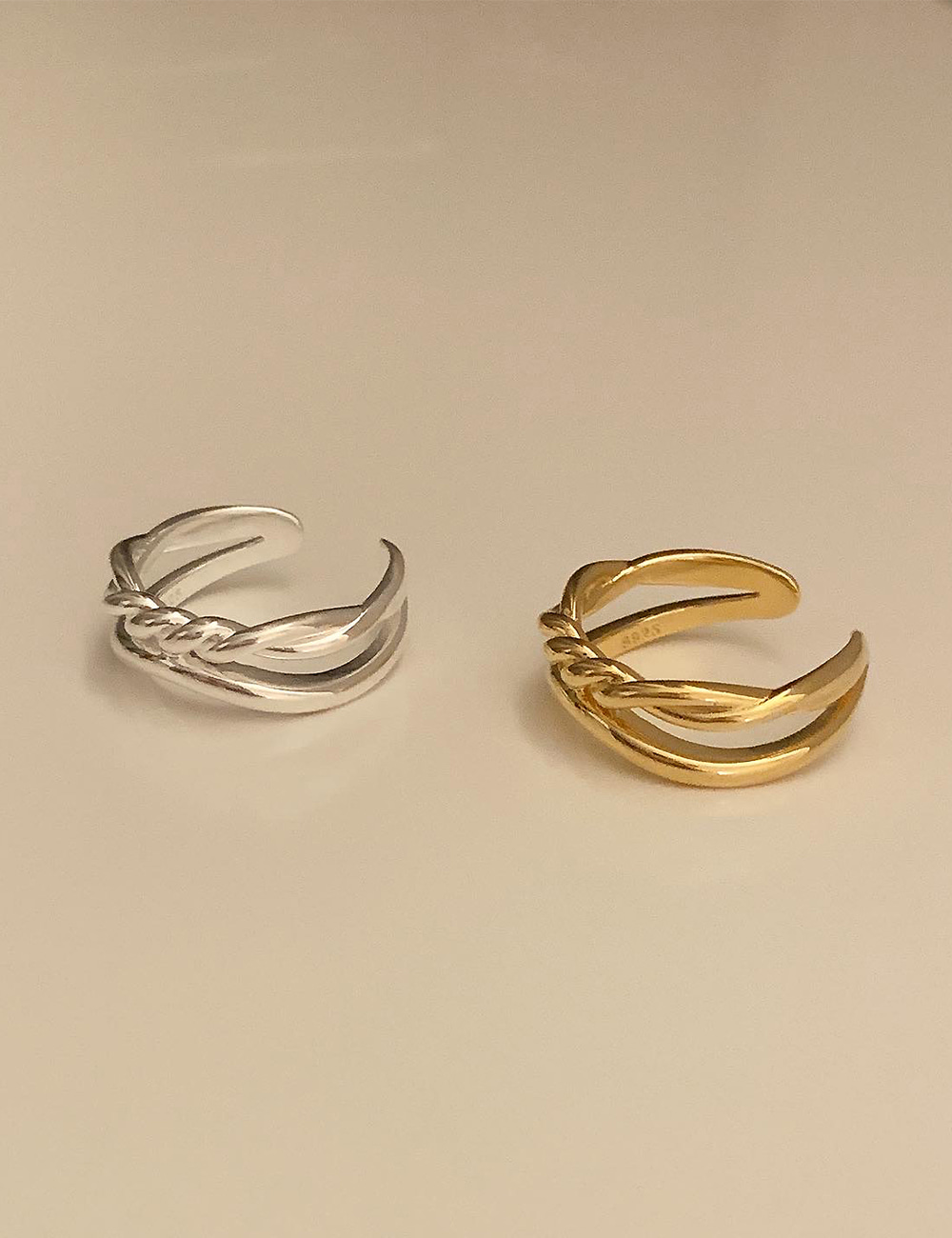 (silver 92.5) Mix ring