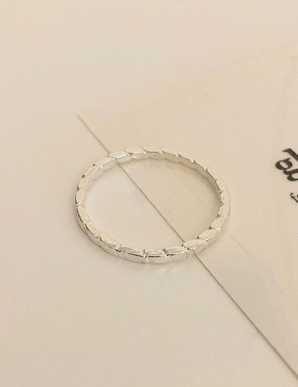 (silver 92.5) Blon ring