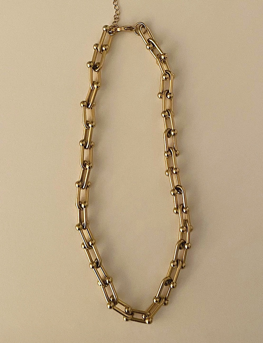 (surgical steel) Bold chain necklace