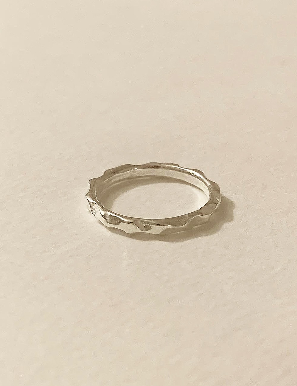 (silver 92.5) Crush cutting ring